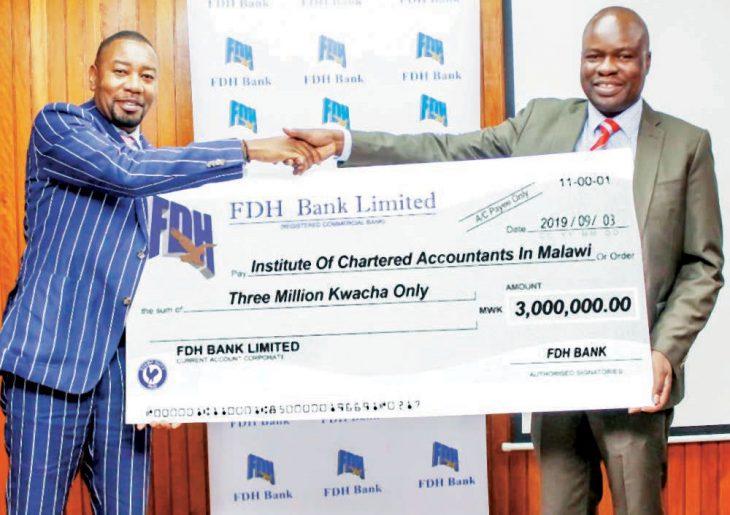 , FDH Bank gives Icam K3 million