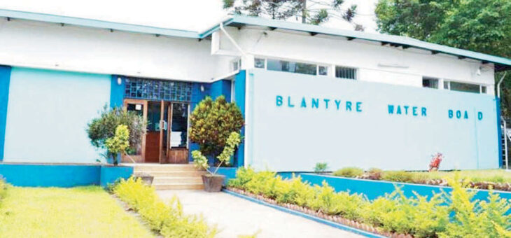 , Blantyre Water Board losing K1 billion monthly to non-revenue water