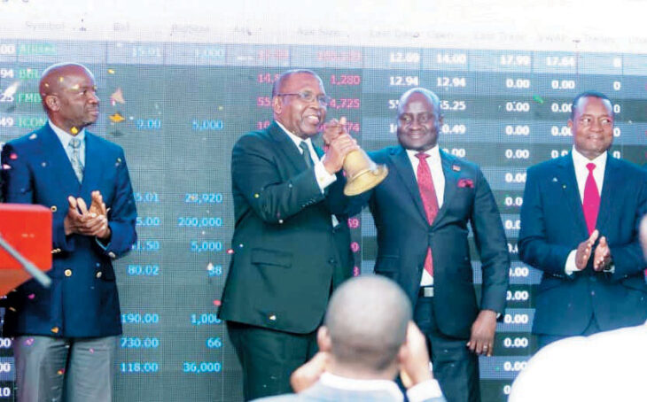 Airtel lists on stock market