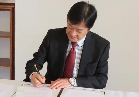 Japan gives K2 billion for Covid-19 fight