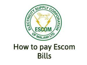 How to pay for Escom Bill