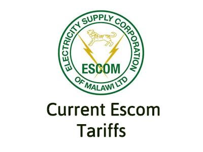 Latest Escom Malawi Tariffs