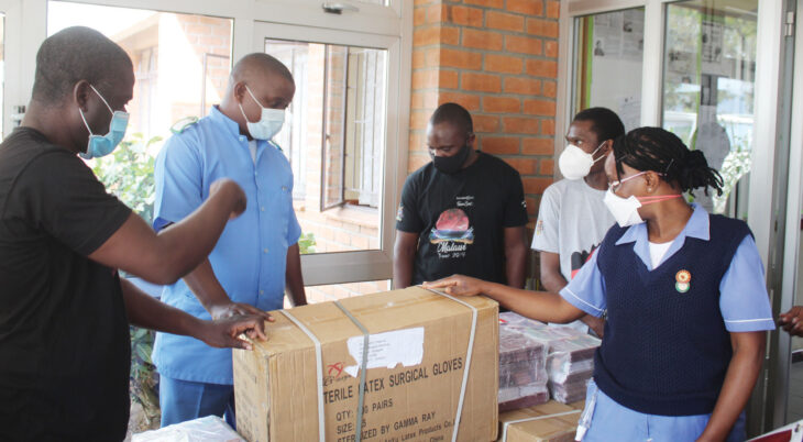 Operation Smile donates Covid-19 PPEs to QECH