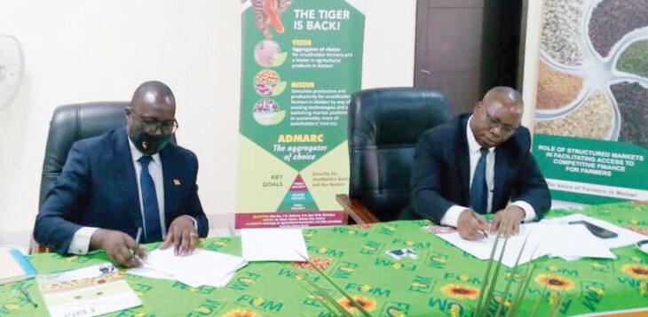Admarc, Farmers Union of Malawi sign deal