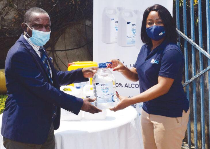 EthCo donates to Nkhotakota schools