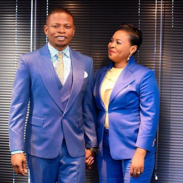 Bushiri with his wife happy