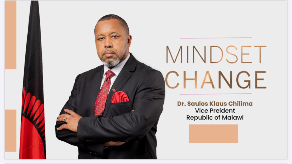 Mindset Change Public Lecture by Saulos Chilima Cover Photo