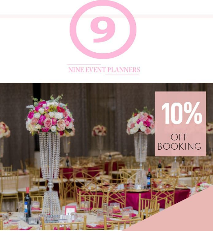 nine events planners