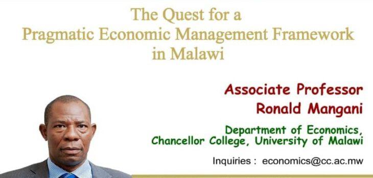 Ronald Mangani lecture in January 2021