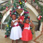 Israella Bushiri With Little Sister Raphaella