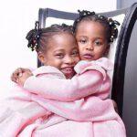 Israella Bushiri With Sister Raphaella