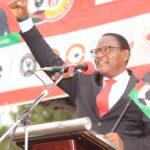 Lazarus Chakwera Rising Fist