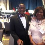 Lazarus Chakwera At Dinner With Wife