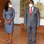 Lazarus Chakwera At State House