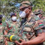 Lazarus Chakwera Wearing Army Uniform