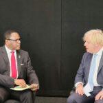 Lazarus Chakwera With Boris Johnson