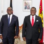 Lazarus Chakwera With Drc Diplomat