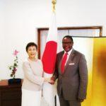 Lazarus Chakwera With Japan Ambassador