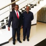 Lazarus Chakwera With Kwacha Chisiza