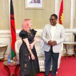 Lazarus Chakwera With Madonna