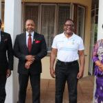 Lazarus Chakwera With Malawi Ministers