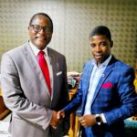 Lazarus Chakwera With Phrophet Austin Liabunya