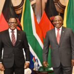 Lazarus Chakwera With South African President