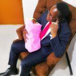Lazarus Chakwera With Grand Child