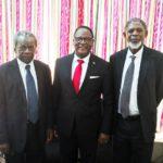 Lazarus Chakwera With His Lawyers