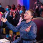 Mary Bushiri Eyes Closed Praying