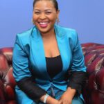 Mary Bushiri Greenish Color Outfit
