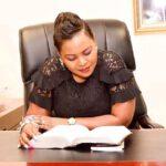 Mary Bushiri Reading Bible