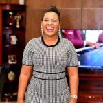 Mary Bushiri Wearing Black White Outfit Smiling