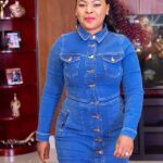 Mary Bushiri Wearing Jeans Outfit