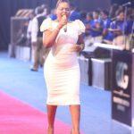 Mary Bushiri Wearing White