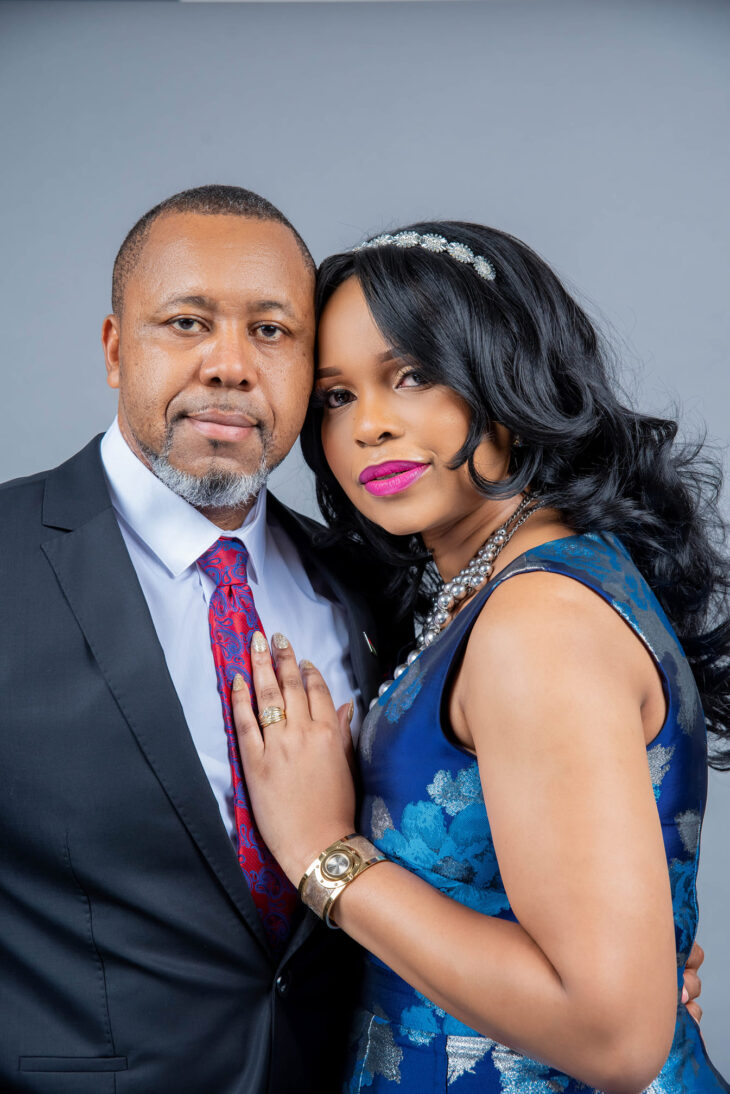 Mary Chilima With Dr Saulos Chilima Her Husband