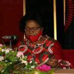 Monica Chakwera Giving Speech