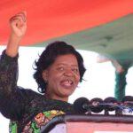 Monica Chakwera Happy
