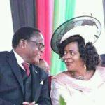 Monica Chakwera Talking With Husband