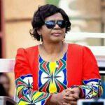 Monica Chakwera Wearing Mcp Colors