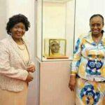 Monica Chakwera With Magafuli Wife