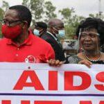Monica Chakwera With Husband On Aids Day