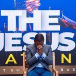 Shepherd Bushiri Closed Hand Prayer