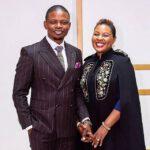 Shepherd Bushiri Holding Hands With Mary