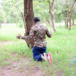 Shepherd Bushiri Kneeling Prayer Outside
