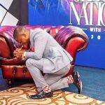 Shepherd Bushiri Kneeling Preaching