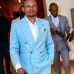 Shepherd Bushiri Light Blue Suit