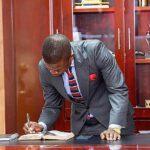 Shepherd Bushiri Signing