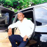 Shepherd Bushiri Smiling Outside Car