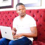 Shepherd Bushiri Using Macbook Laptop